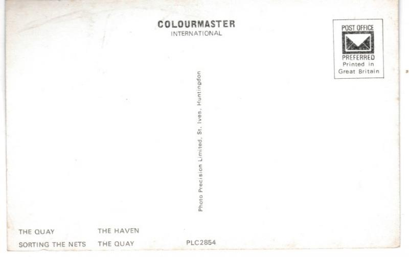 Post Card Dorset MUDEFORD 4 views Colourmaster International PLC2854