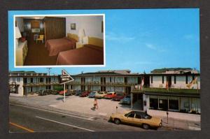 NJ View Skylark Motel WILDWOOD NEW JERSEY Postcard PC