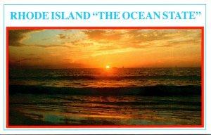 Rhode Island Sunset The Ocean State