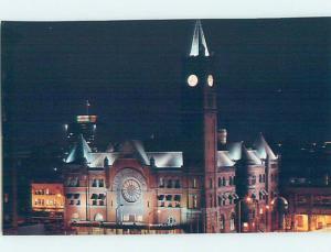 Unused Pre-1980 BUILDING SCENE Indianapolis Indiana IN H4690