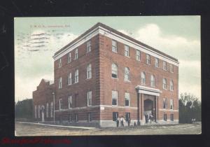 JONESBORO ARKANSAS Y.M.C.A. BUILDING ANTIQUE VINTAGE POSTCARD