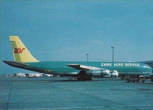 ZAIRE AERO SERVICE BOEING 707-327C