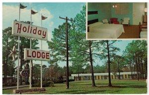 Postcard - Holiday Lodge & Restaurant 301 Bypass - Rocky Mount, North Carolina