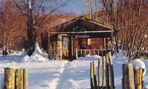 Home of Famed Poet of the Yukon,  Robert Service Cabin,  Dawson,  Yukon Ter...