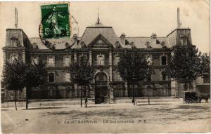 CPA ST-QUENTIN La gendarmerie (159548)