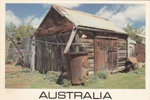 Slab And Tin Shed Sofala Australia