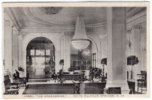 White Sulphur Springs, W.Va., Lobby, The Greenbrier