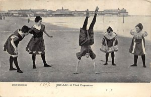Bathing Beauty Post Card Hard Proposition 1907