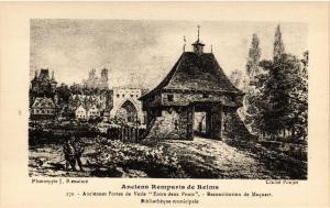 CPA  Anciens Remparts de Reims -Anciennes Portes de Vesle Entre deux.. (741422)