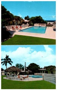 Florida  Pompano Beach ,Caravana by the Sea Motel , view of pool