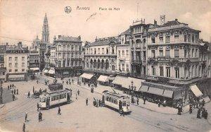 Place de Meir Anvers Belgium 1920