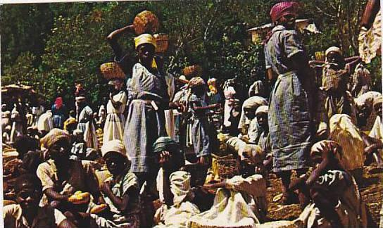 Market Day , Haiti, 40-60s