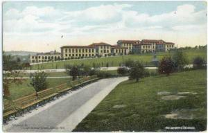 Carnegie Technical School Schenley Park Pittsburgh Pennsylvania PA, Divided Back