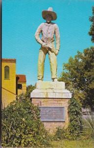 Kansas Dodge City Cowboy Statue At Boot Hill