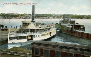 CT - New London - Public Landing, Steamer Orient