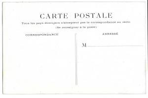 Paris France Hotel de Ville Vintage Postcard City Hall
