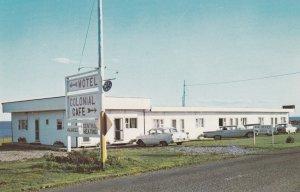 PORT DANIEL WEST, Quebec, Canada, 1940-60s; Colonial Motel & Cafe