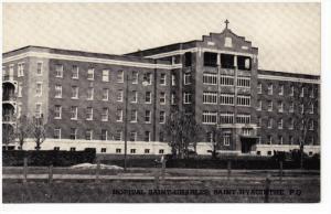 L'Hopital Saint-Charles , SAINT-HYACINTHE , Quebec , Canada, 50-60s