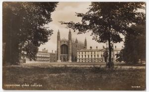 Cambridge; King's College RP PPC, Unposted, By Photochrom, c 1910's