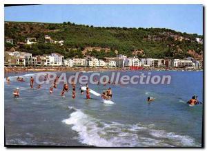 Postcard Modern beach ESTARTIT COSTA BRAVA