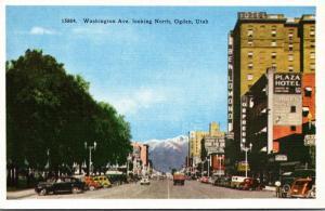 Utah Ogden Washington Avenue Looking North