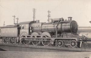 LNER 8517 Engine Stratford Constructed Train Vintage Railway Real Photo Postcard
