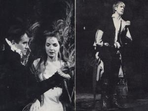 Ian Bannen David Warner Elizabeth Sellers in Hamlet Shakespeare Play 1961 2x ...
