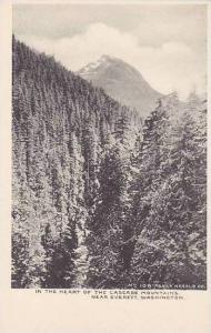 Washington Everett In The Heart Of The Cascade Mountains Albertype