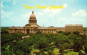 VTG Postcard Texas State Capitol Austin 1966 Unposted Chrome 1467
