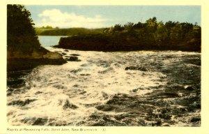 Canada - New Brunswick. St. John, Rapids at Reversing Falls