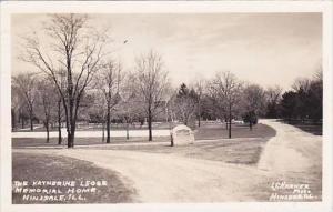 Illinois Hinsdale Katherine Legge Memorial Home 1942 Real Photo RPPC