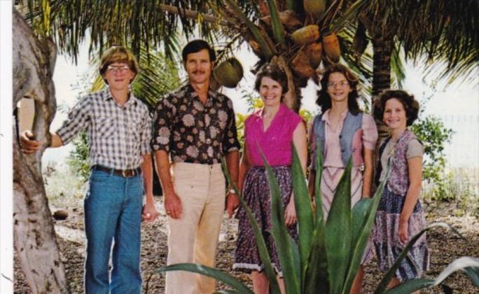 Curacao Bonaire George & Joann Cooper and Family Trans World Radio
