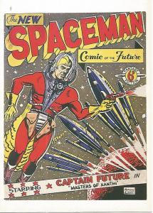 Postal 52704: CAPTAIN FUTURE de Norman Light. Coleccion SPACE ACES