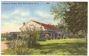 Benvenue Country Club, Rocky Mount, North Carolina, 1930-1940s
