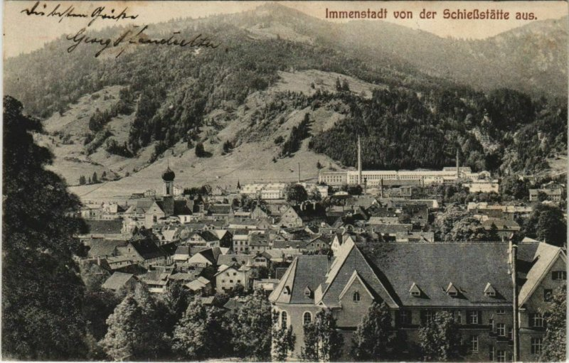 CPA AK Immenstadt GERMANY (1121415)