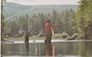 Fishing,  Thetford Mines,  Quebec,  Canada,    PU_1989