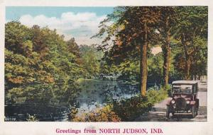 Indiana Greetings From North Judson 1925