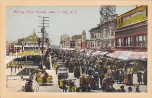 New Jersey Atlantic City Rolling Chair Parade