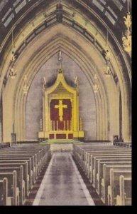 South Dakota Yankton Main Altar Bishop Marty Memorial Chapel Mount Marty Coll...
