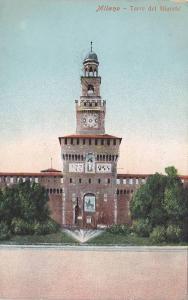 Milano, Torre del Filarete, Lombardia, Italy, PU-1911