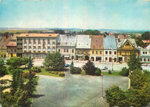 Czech Republic Postcard Chotebor 1st May Square