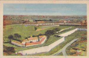 Aerial View, The Citadel, Quebec, Canada, 10-20s