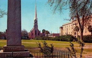South Carolina Charleston Marion Square and St Matthews Lutheran Church