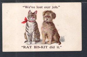 We've Lost Our Job,Cat,Dog, Rat-Biskit Advertising