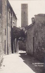 RP, Via Prunello, S. Gimignano (Siena) Tuscany, Italy, 1920-1940s
