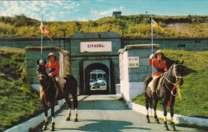 Canada Nova Scotia Halifax Entrance To Halifax Citadel 1967
