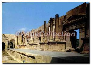 Postcard Modern Part Of Theater OF Jerash