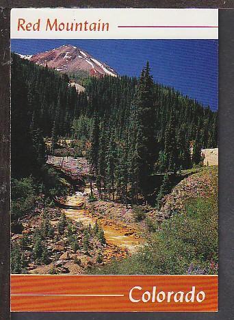 Red Mountain CO Postcard BIN