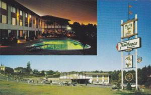 Swimming Pool,  Tally-Ho TraveLodge,  Nanaimo,  B.C.,  Canada,  40-60s