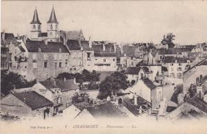 CHAUMONT, Panorama, Hute Marne, France,  00-10s